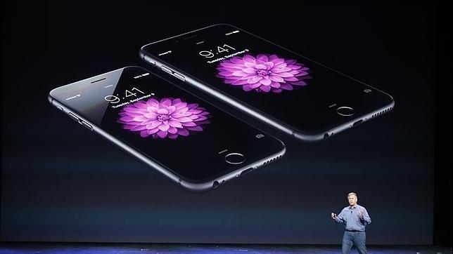Phil Schiller, de Apple,durante la presentación el año pasado del iPhone 6