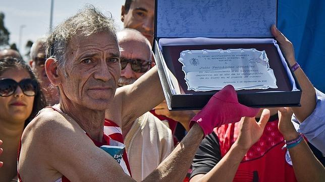 Julio Fernández, homenajeado en Ayamonte, su localidad natal
