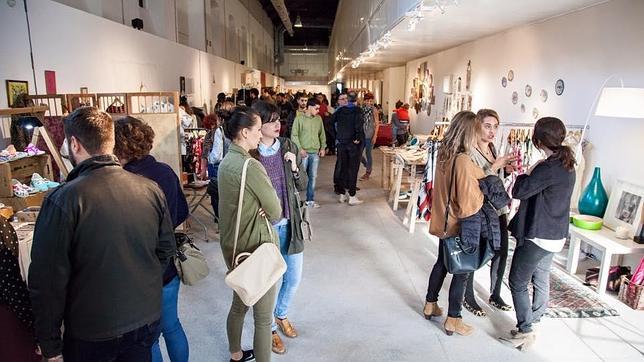 Mercado de Diseño de Alicante durante la edición anterior