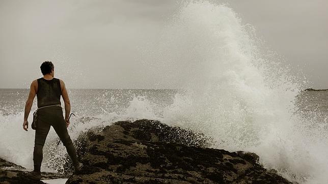 En la fachada atlántica de La Coruña, las olas han llegado a seis metros