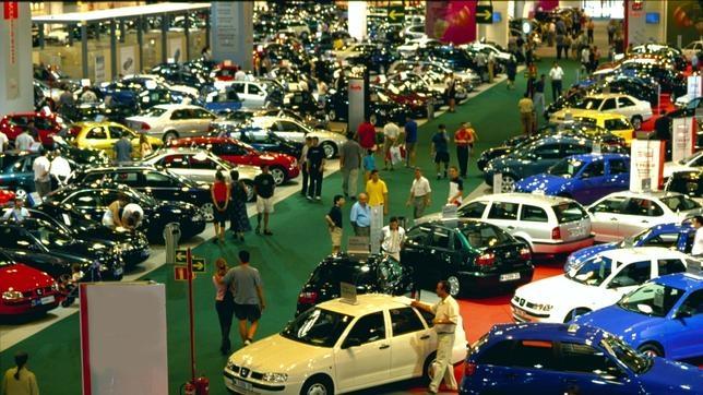 Feria del coche usado en IFEMA