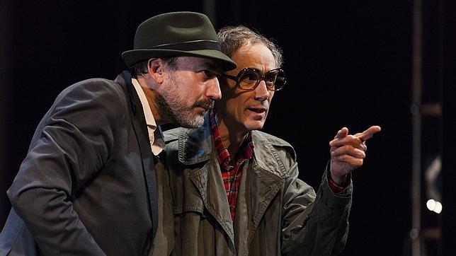 Daniel Albaladejo y César Sarachu, en una escena de «Reikiavik»