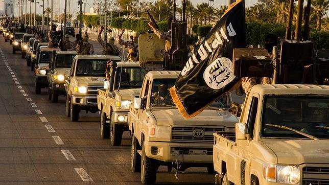 Imagen propagandística de Estado Islámico