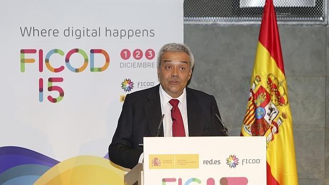 El secretario de Estado de Telecomunicaciones, Víctor Calvo-Sotelo