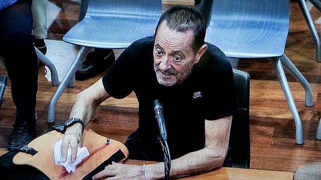 Julián Muñoz, en una de las últimas sesiones del juicio