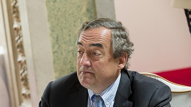 El presidente de la CEOE, Juan Rosell, en el Foro ABC