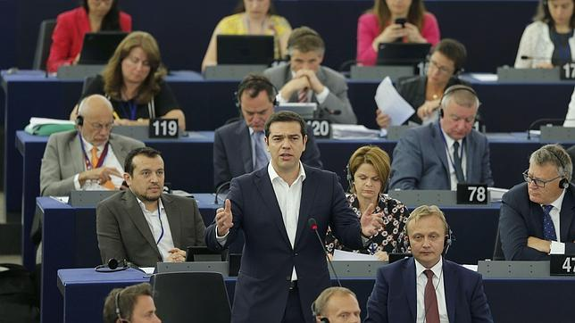 Alexis Tsipras, este miércoles en Bruselas