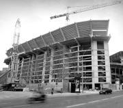 Las obras en el Gol Norte de Mestalla finalizarán la próxima semana. Mikel Ponce