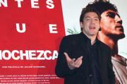 Javier Bardem, ayer en el Círculo de Bellas Artes. Daniel G. López