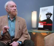 Fernando Fernán-Gómez, ayer en la Fundación Autor. Javier Prieto