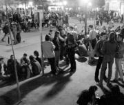 Las reuniones callejeras de fin de semana levantan cada vez más protestas. ABC