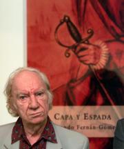 El autor, ayer, durante la presentación de su novela. Chema Barroso