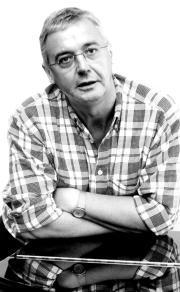 Graham Vick fotografiado en Madrid durante la entrevista. Daniel G. López