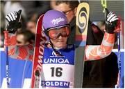 Regine Cavagnoud, campeona mundial del supergigante
