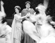Un momento del montaje de «Orfeo», de Monteverdi