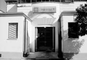 Los trabajos de acondicionamiento continuaban ayer en el interior de la sede de la cumbre de Sevilla Díaz Japón