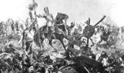Batalla de Otumba que refleja el coraje con el que los conquistadores se batían para alcanzar el dominio de las nuevas tierras