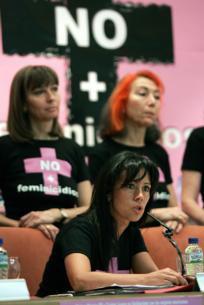 EFE  Cristina del Valle, ayer en Madrid