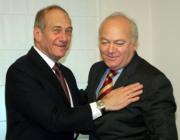 EFE  Olmert y Moratinos, durante la reunión que mantuvieron ayer en Jerusalén