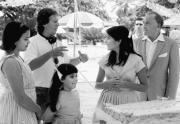 Luis Llosa dirige a Stephanie Leonidas y a Paul Freeman en una escena