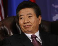 Esta es la cara que se le quedó al presidente de Corea del Sur