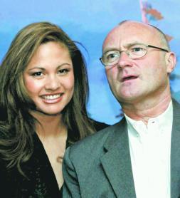 Phil Collins entra en el club de los divorcios millonarios