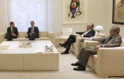 Zapatero margina a Bancaja y CAM frente a entidades, como Unicaja, de menor peso