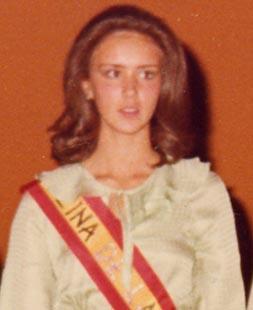 La novia de Felipe González fue reina de las fiestas en La Villa de Don Fadrique
