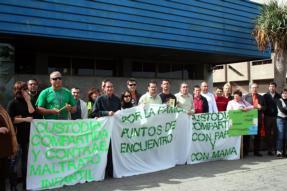 Gran Canaria se solidariza con los afectados por el Punto de Encuentro