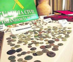 MANUEL MIRÓ  Las monedas son una de las piezas más expoliadas