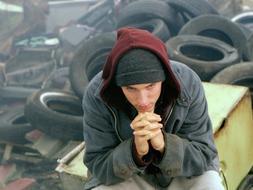 Imagen de la película protagonizada por Eminem '8 millas'. / Archivo