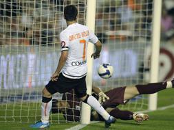 Villa se despide con un gol de la temporada.