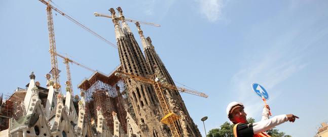 La Sagrada Familia, entre los monumentos que corren mayor peligro