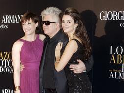 Los actores de «Los abrazos rotos», molestos con la Academia de Cine