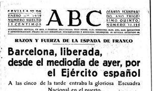 Franco y la conquista de Barcelona en 1939