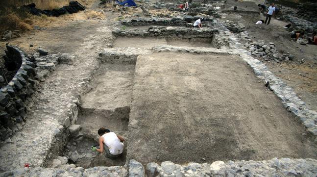 Identifican el palacio de los primeros Omeyas en el mar de Galilea