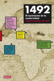 Felipe Fernández  Armesto  Historiador  Grabado de época que muestra una idealizada visión de la llegada de Cristobal Colón a América