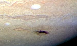 El asteroide que impactó contra Júpiter originó una nube del tamaño de la Tierra
