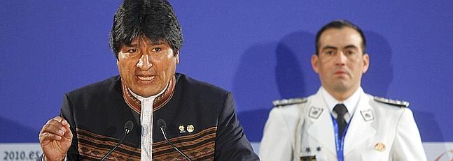 Morales usa a la prensa de su país para justificar su acusación al PP