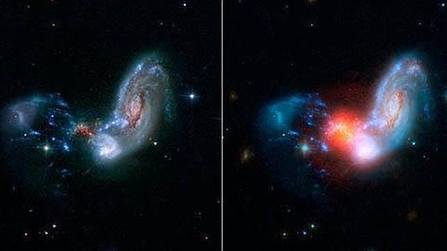 El objeto más luminoso del Universo local
