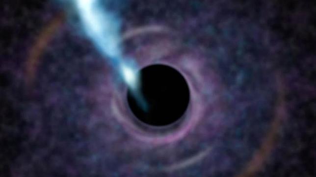 Un poderoso agujero negro, cerca de nuestra galaxia
