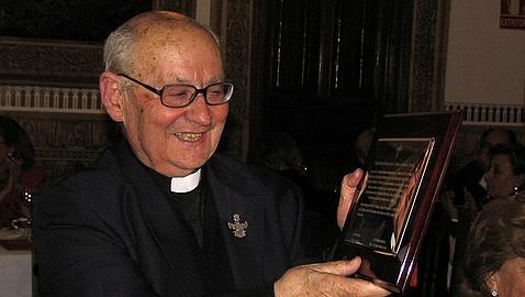 El sacerdote Jaime Colomina Torner, Hijo Adoptivo de Castilla-La Mancha