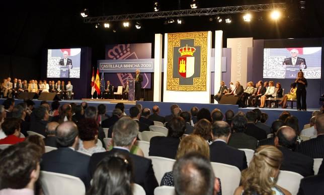 María Isbert, Clara Sánchez y la SMR, Medallas de Oro de la región