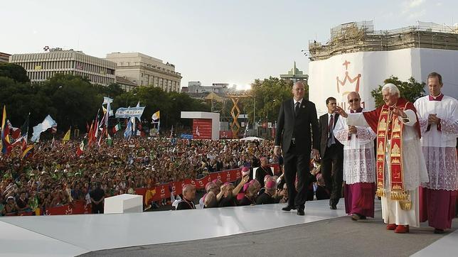 Benedicto XVI, en Madrid