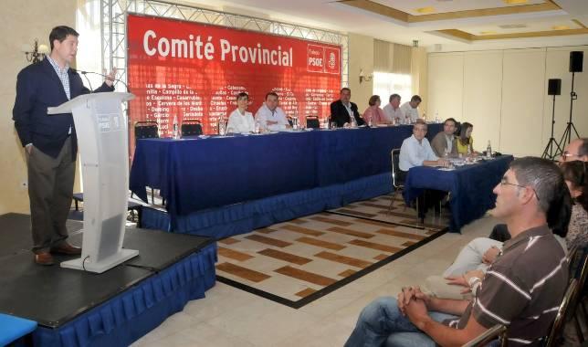 El PSOE ya tiene candidatos en 4 de las 5 provincias para el 20-N