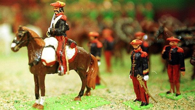 Napoleón puso de moda los soldaditos de plomo