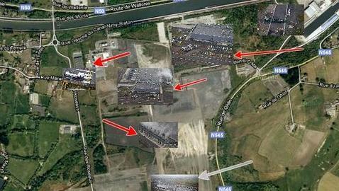 «Le Soir» ataca la privacidad de Google fotografiando sus instalaciones secretas en Bélgica