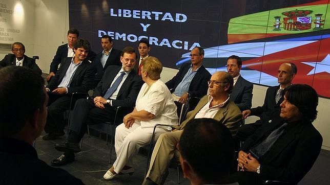 La disidencia cubana confía en Rajoy