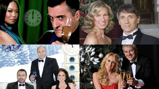 Anne Igartiburu, Carlos Sobera, Isabel Pantoja... los rostros de las campanadas de 2011