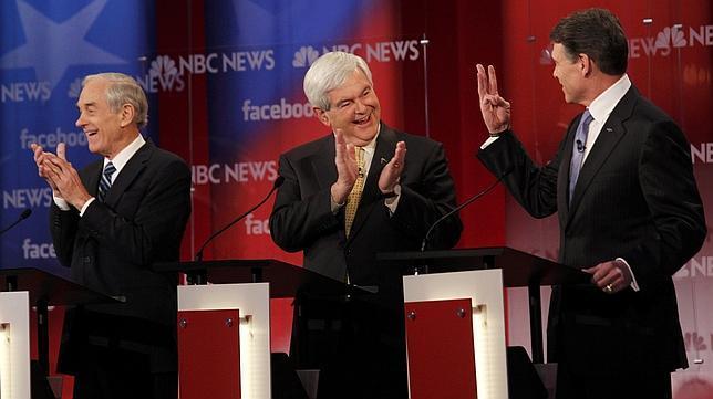 Empacho político de fin de semana en las horas previas a las primarias de New Hampshire